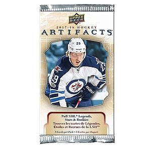 Upper Deck NHL 2017-18 Artifacts Hockey Booster Pack