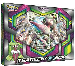 Pokemon Trading Card Game: Tsareena-GX Box