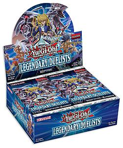 Yugioh Trading Card Game Duelist Pack: Legendary Duelists Booster Box