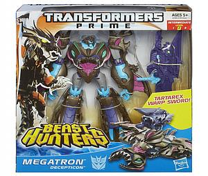Transformers Prime Beast Hunters Voyager Class: Megatron