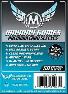 Premium Card Sleeves 50-pack: European Size