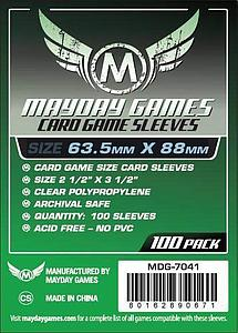 Card Game Sleeves 63.5mm x 88mm 100-pack