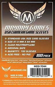 Board Game Standard Card Sleeves 100-pack: USA Size (Chimera)