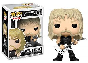 Pop! Rocks Music Metallica Vinyl Figure James Hetfield #57