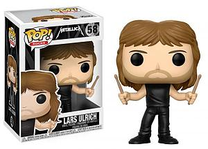 Pop! Rocks Metallica Vinyl Figure Lars Ulrich #58