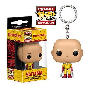 Pop! Pocket Keychain One-Punch Man Vinyl Figure Saitama