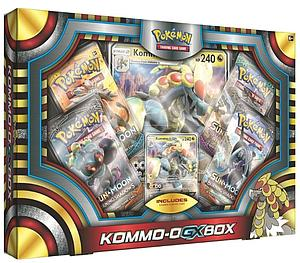 Pokemon Trading Card Game: Kommo-O-GX Box