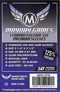 Board Game Premium Card Sleeves 50-pack: USA Size
