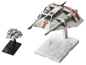Star Wars 1/48 & 1/144 Scale Model Kit: Snowspeeder