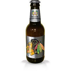 NHL 14 Inch Plastic Bottle Banks: Chicago Blackhawks