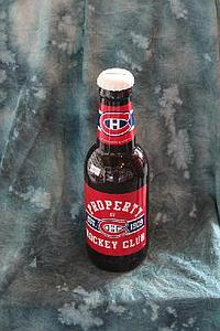 NHL 14 Inch Plastic Bottle Banks: Montreal Canadiens