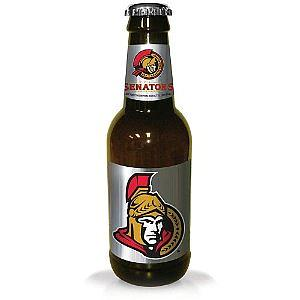 NHL 14 Inch Plastic Bottle Banks: Ottawa Senators