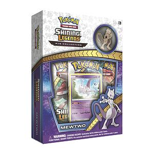 Pokemon Trading Card Game: Mewtwo 3-Pack Blister with Pin