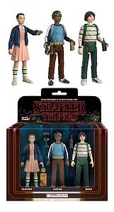 Stranger Things Action Figure 3-Pack (Eleven, Mike, Lucas) Set #1