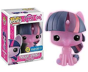 Pop! My Little Pony Vinyl Figure (Glows in the Dark) Twilight Sparkle #06 Walmart Exclusive