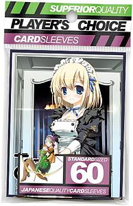 Tanto Cuore 60-pack Card Sleeves: Claudine