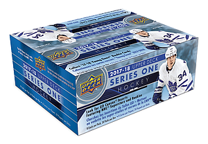 2017-2018 NHL Series 1 Retail Booster Box (24 packs)