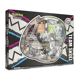 Pokemon Trading Card Game: Team Skull Pin Collection Box