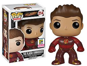 Pop! Television The Flash Vinyl Figure Flash: Unmasked #214 SDCC 2015 Exclusive