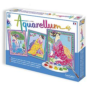 Aquarellum Large Magic Canvas: Japanese
