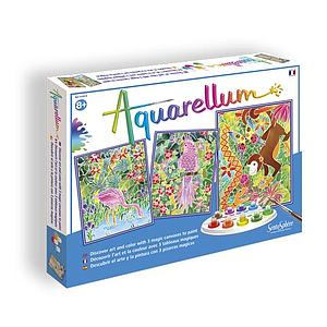 Aquarellum: Magic Canvas Large Amazon