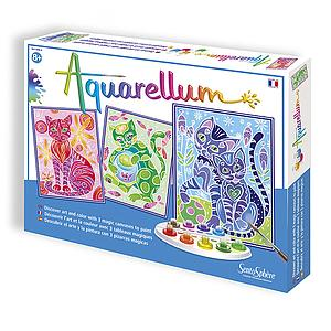 Aquarellum: Magic Canvas Large Cats