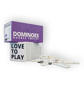 Love to Play: Dominoes (Double Twelve)