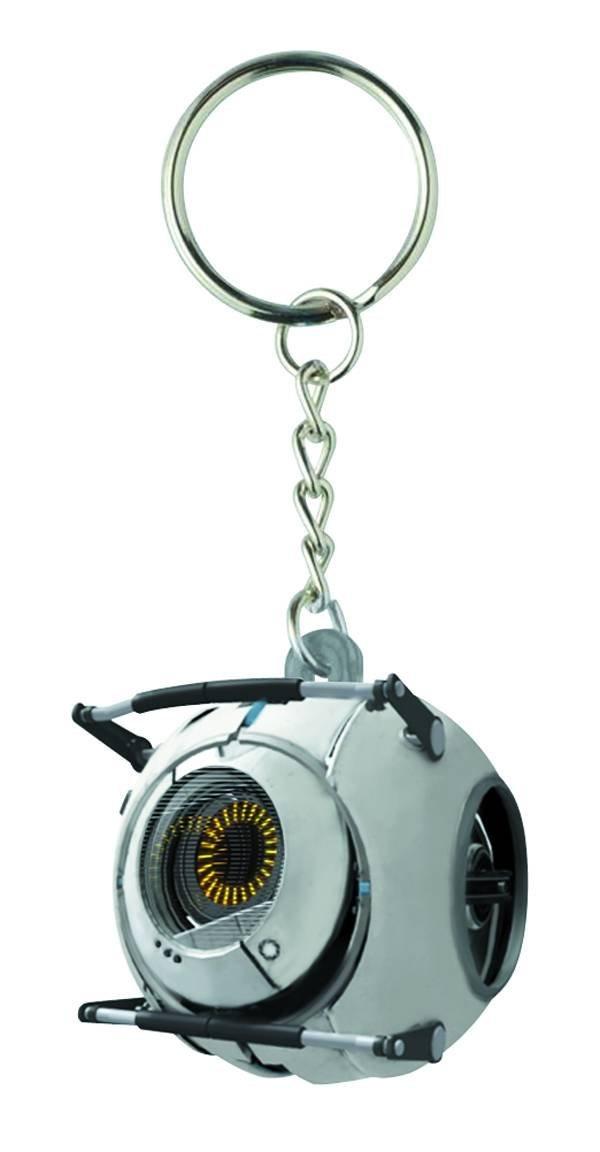 Portal 2 Space Sphere Keychain