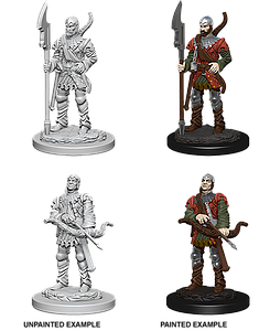 Pathfinder Roleplaying Game Unpainted Miniatures: Town Guards