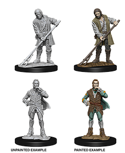 Pathfinder Roleplaying Game Unpainted Miniatures: Towns People