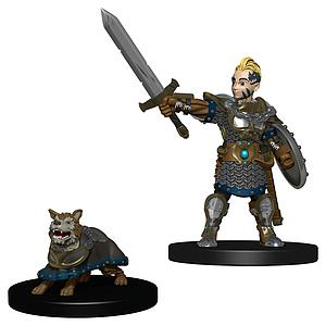 Wardlings Pre-Painted Miniatures: Boy Fighter with Battle Dog