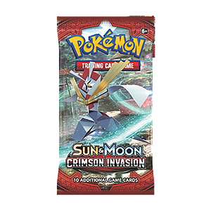 Pokemon Trading Card Game: Sun & Moon Crimson Invasion Booster Pack