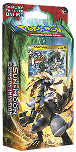 Pokemon Trading Card Game: Sun & Moon Crimson Invasion Theme Deck: Clanging Thunder (Kommo-o)