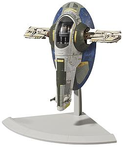 Star Wars 1/144 Scale Model Kit: Slave I (Jango Fett Ver.)