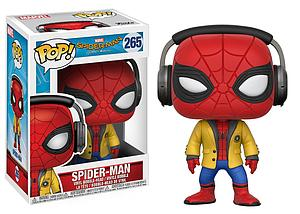 Pop! Marvel Spider-Man Homecoming Vinyl Bobble-Head Spider-Man (with Headphones) #265