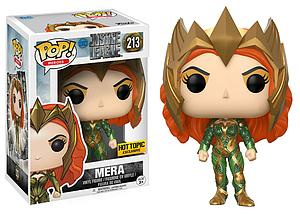 Pop! Heroes Justice League Movie Vinyl Figure Mera #213 Hot Topic Exclusive (Retired)