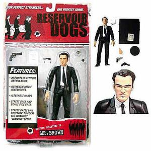 Reservoir Dogs Quentin Tarantino Mr. Brown (Extremely Rare)