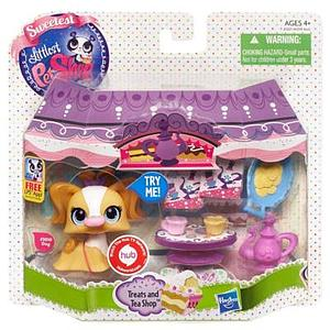 Sweetest Littlest Pet Shop Set: Treats & Tea Shop