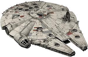 Star Wars 1/72 Scale Model Kit: Millennium Falcon (A New Hope)