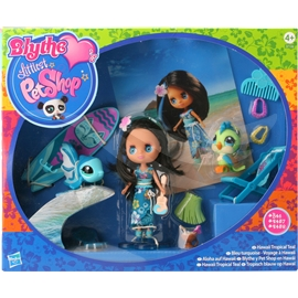 Blythe Littlest Pet Shop Hawaii: Tropical Teal