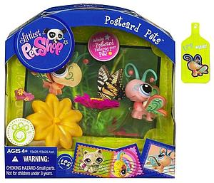 Postcard Pets Littlest Pet Shop Set: Butterfly (1357)
