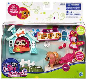 Walkables Littlest Pet Shop Set: Butterfly