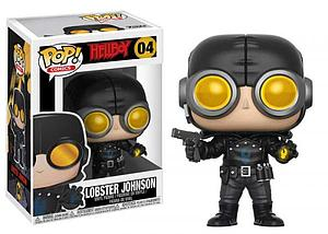 Pop! Comics Hellboy Vinyl Figure Lobster Johnson #04