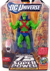 Mattel DC Universe Justice League 6 Inch Series 15 Martian Manhunter