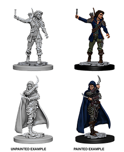 Pathfinder Roleplaying Game Unpainted Miniatures: Human Female Rogue