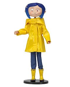 Coraline with Raincoat Bendy Doll