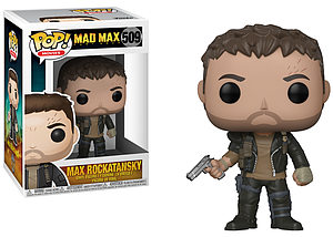 Pop! Movies Mad Max Vinyl Figure Max Rockatansky #509