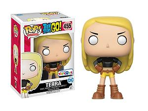 Pop! Television Teen Titans Go! Vinyl Figure Terra #455 Toys R Us Exclusive