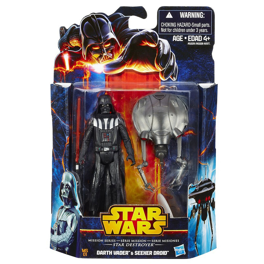 Star Wars Mission Series 2-Packs: Darth Vader & Seeker Droid