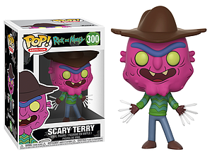 Pop! Animation Rick & Morty Vinyl Figure Scary Terry #300